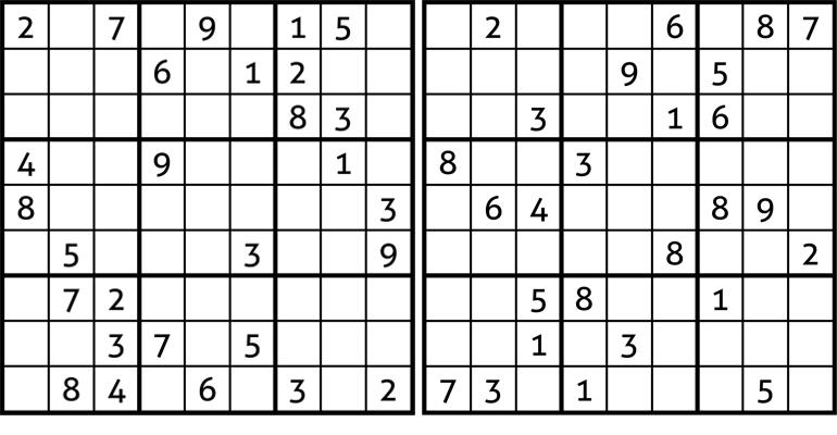 009 sudokuak