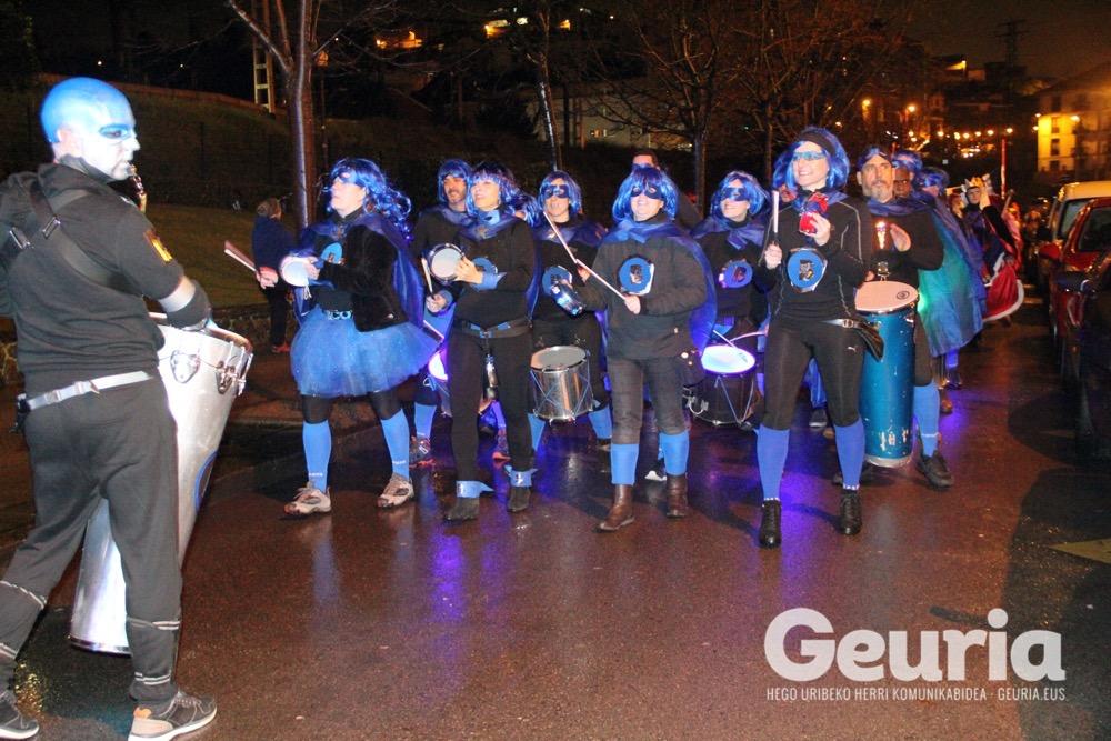 arrigorriaga inauteriak 2018 desfilea 1