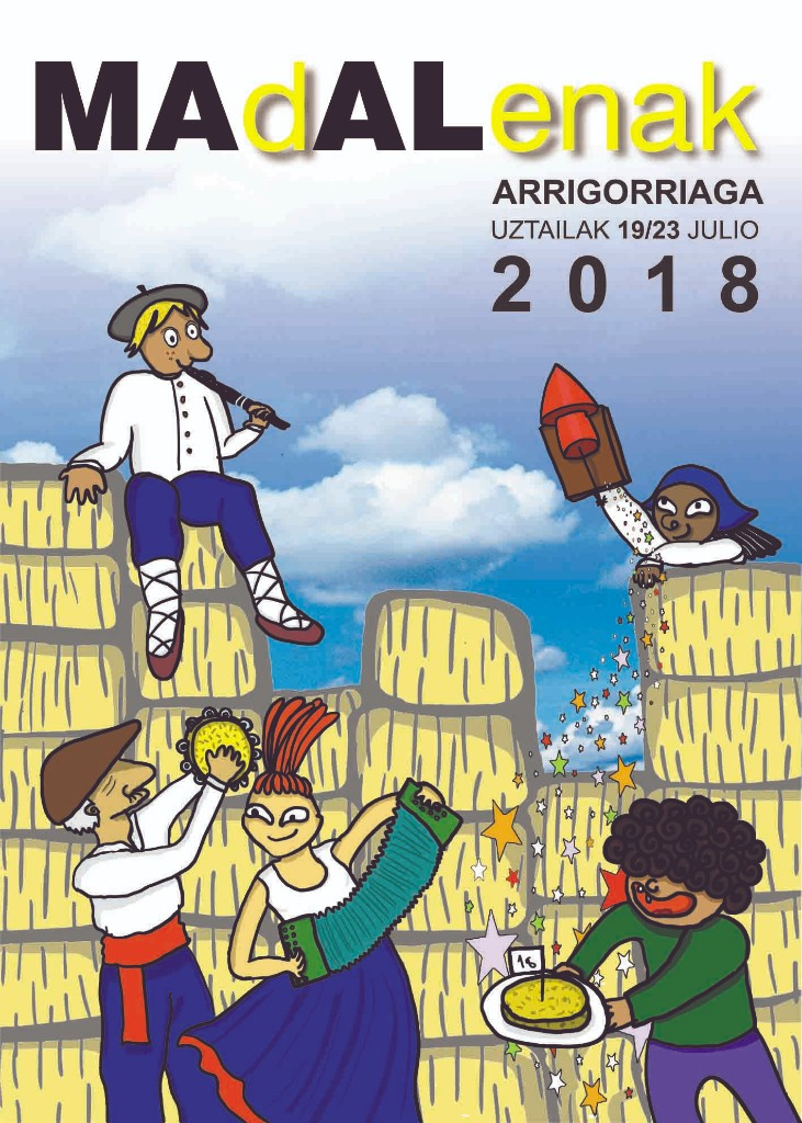 arrigorriaga jaiak 2018 kartela egilea andere molinuevo