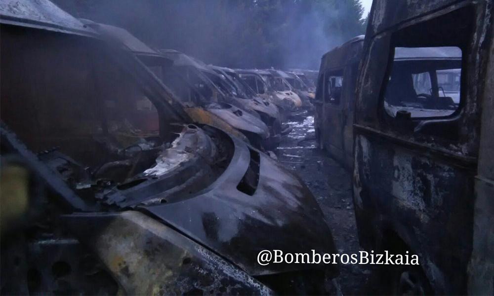 arrigorriaga sutea anbulantziak 2018 atxukarro bizkaiko suhiltzaileak