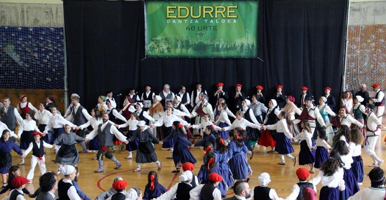 basauri edurre dantza taldea 2017 60 urte 0