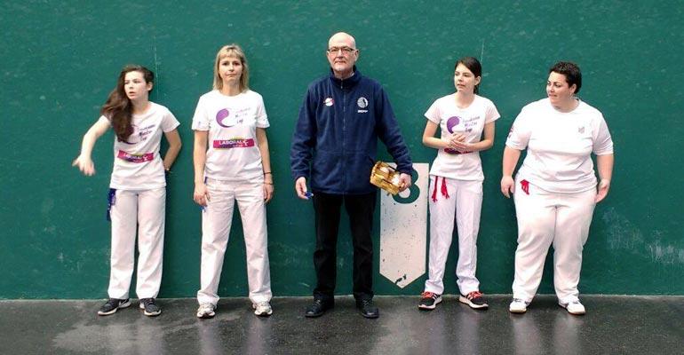 basauri esku pilota 2017 emakume master cup
