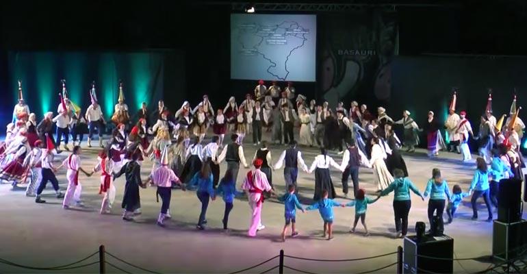 basauri euskal herriko dantza agerketa 2015 bizkotxalde