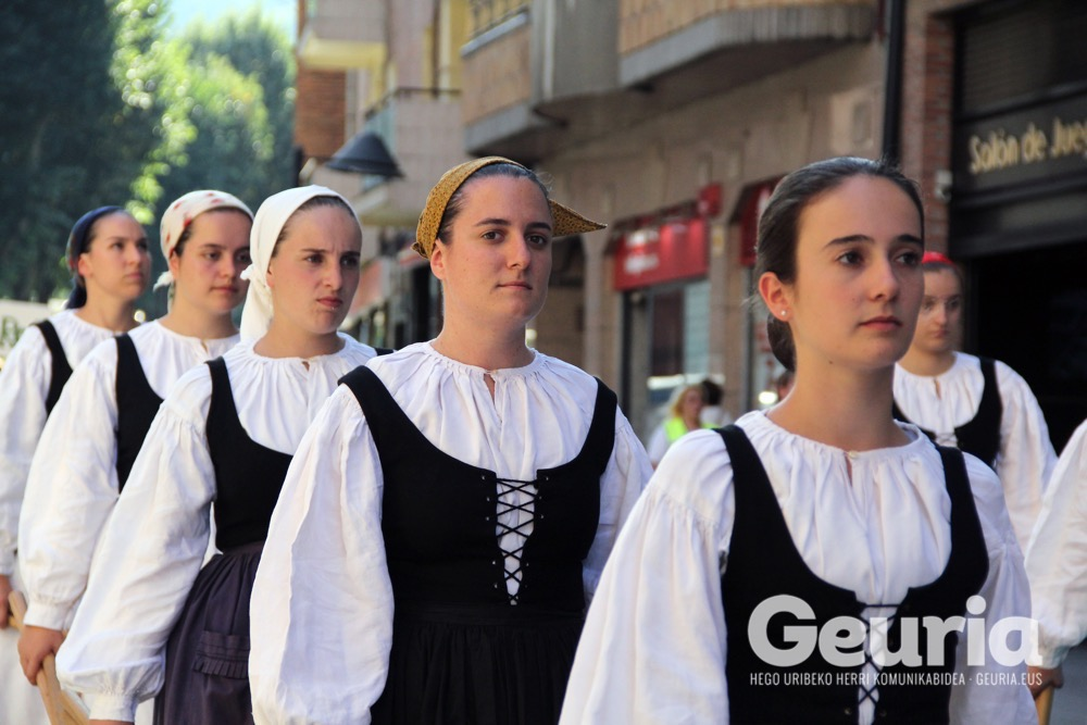basauri euskal herriko dantza agerketa 2018