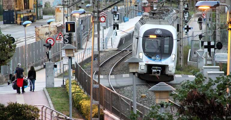 basauri euskotren 2016 trena pasabidea