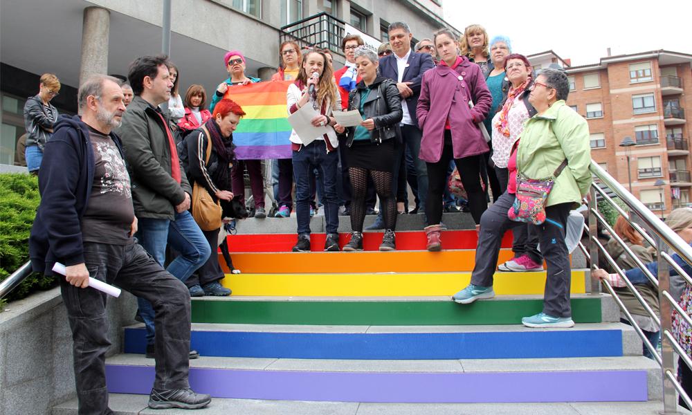 basauri homofobiaren aurkako eguna 2018 maiatzak 17 manifestua