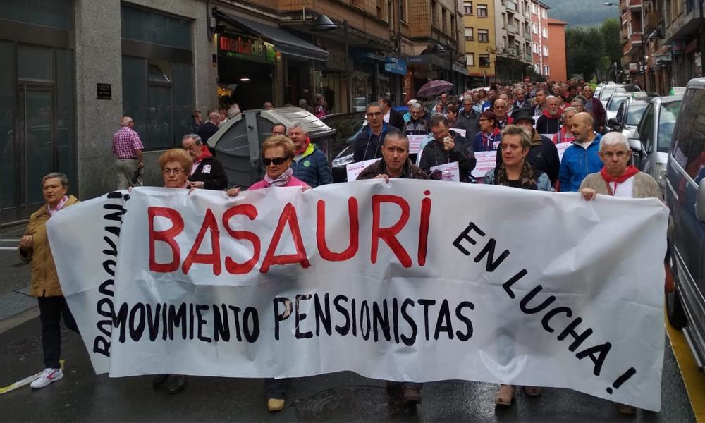 basauri pentsionistak manifestazioa 2018 basauriko jaiak 0