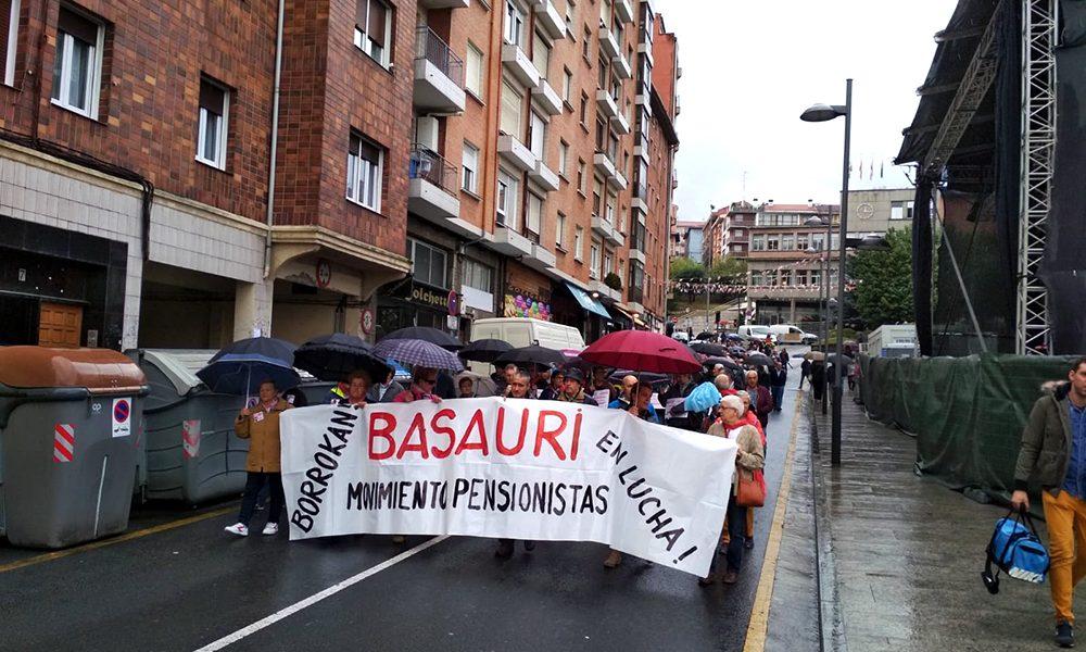 basauri pentsionistak manifestazioa 2018 basauriko jaiak 1