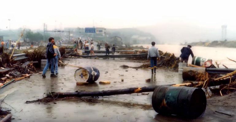basauri uholdeak 1983 urez gainezka dokumentala