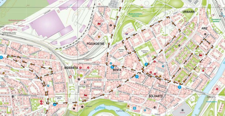 basauri korrika 19 ibilbidea mapa 2015