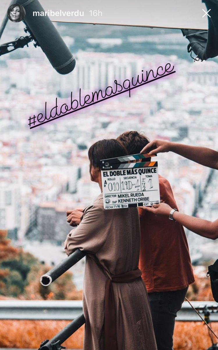 bilbo maribel verdu instagram 2018 el doble mas quince mikel rueda
