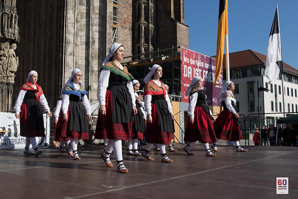 galdakao andra mari dantza taldea 2017 alemania
