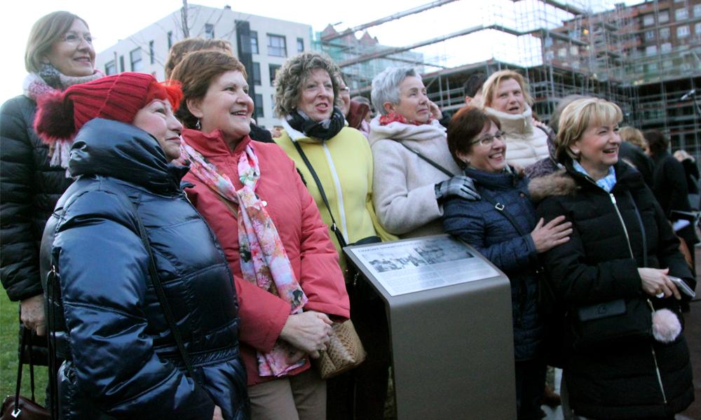 galdakao emakume dinamitarien plaza 2018 inaugurazioa 0