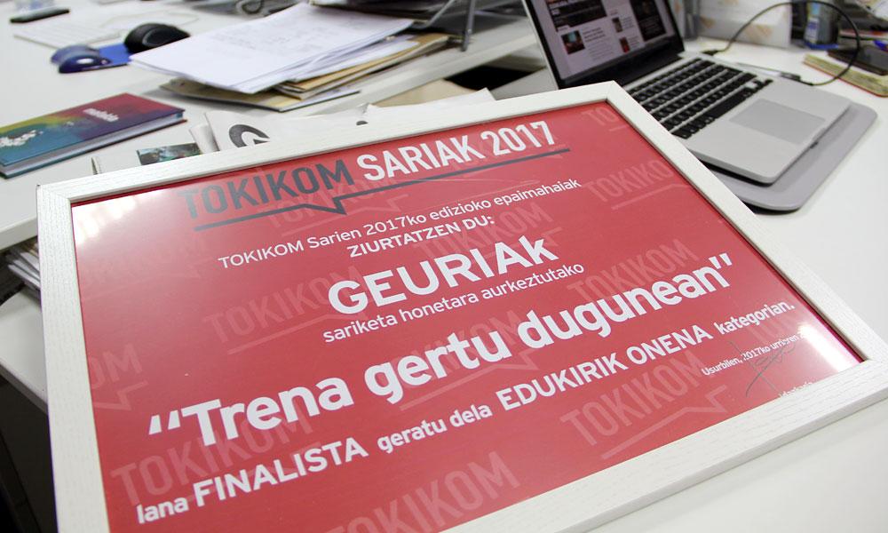 Geuria Tokikom finalista 2017