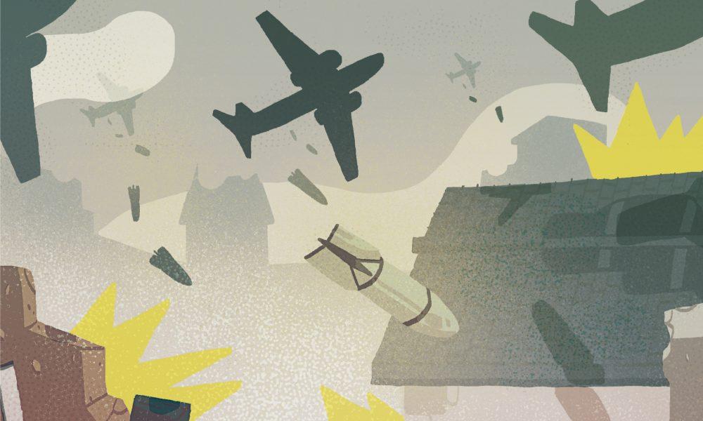 ilustrazioa dani maiz 2017 bonbardaketak 80 urte
