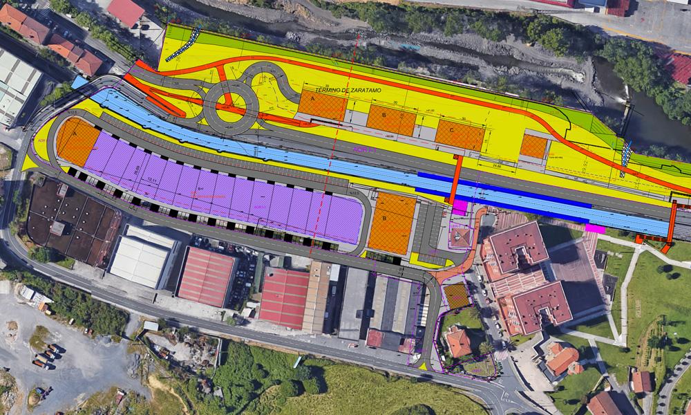 zaratamo arkotxa eraberritzeko hirigintza plana 2018 proiektua