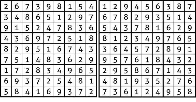 009 sudokuak emaitzak