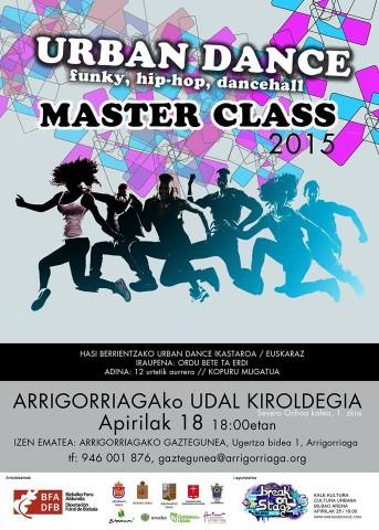 arrigorriaga urban dance masterclas 2015