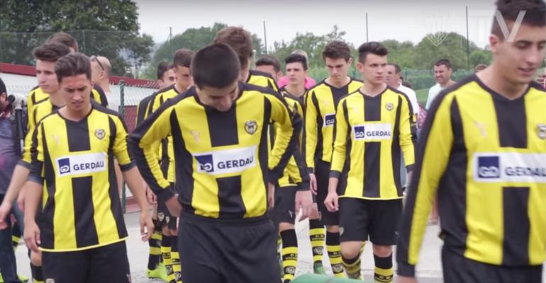 basauri basconia 2016 aurkezpena ARG athletic club tv