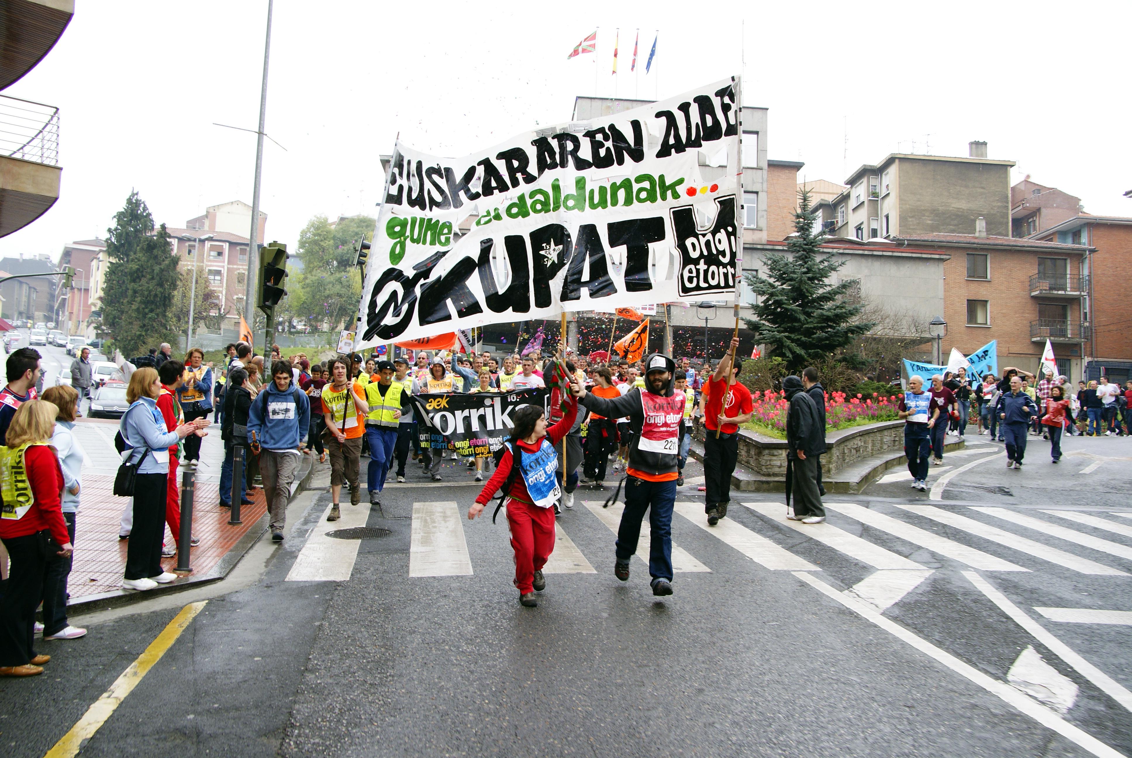 basauri-korrika-16-2009-aek-udaletxea