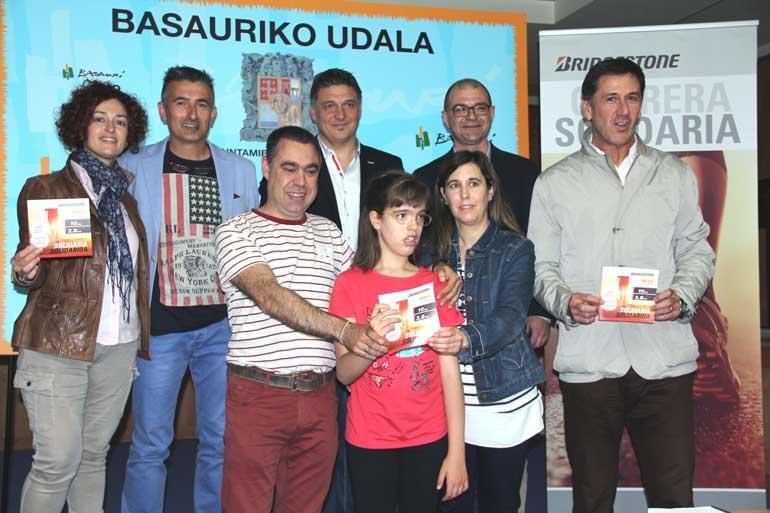 basauri lasterketa solidarioa 2016 bridgestone amaia sastre
