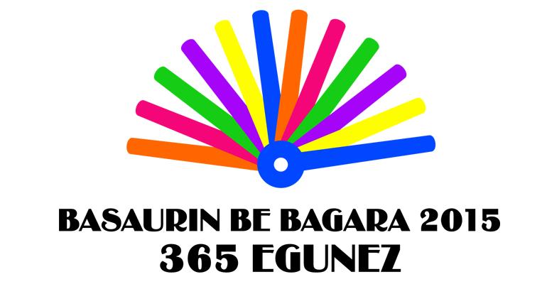 basauri basaurin be bagara logoa 2015