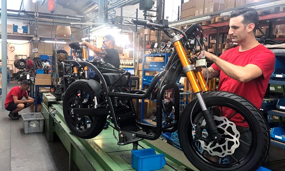 etxebarri nuuk motozikleta elektrikoa 2018 muntaketa lanak argazkia nuuk twitter