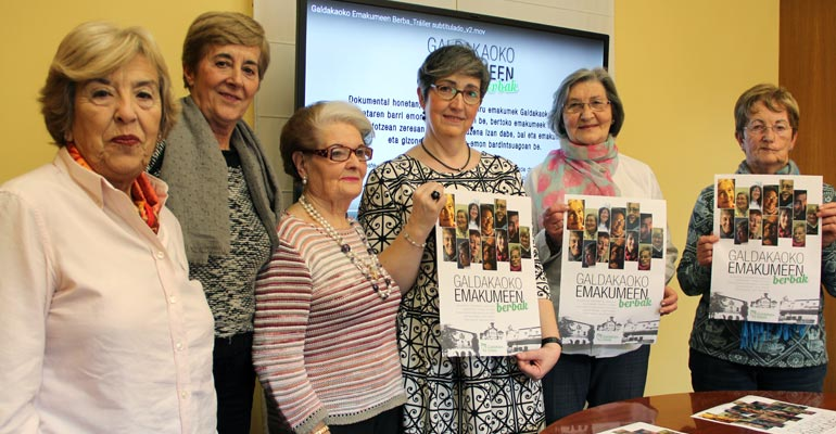 galdakao emakumeen berbak 2017 dokumentala