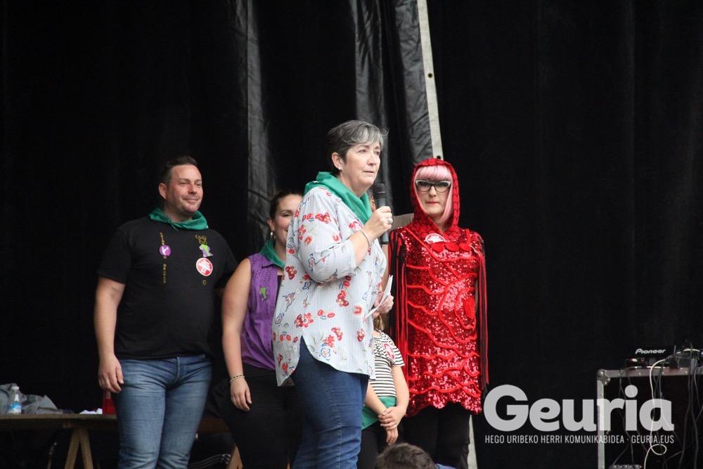 galdakao jaiak 2017 eraso sexistarik ez mannequin challenge 1