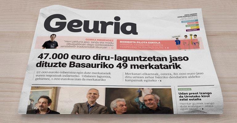 2016ko paperezko edizioa / Geuria