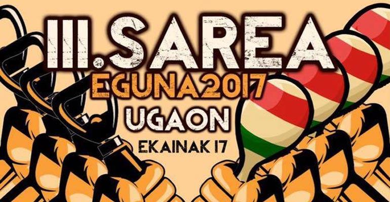 ugao sarea eguna 2017 kartela erdia